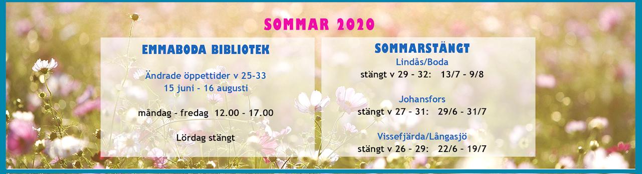 Sommaröppettider 2020